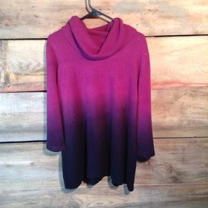 NWT Essentials Two Toned Sweater Size 2X